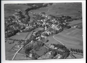 ZZ-1724/ Utting Foto seltenes Luftbild 1938 18 x 13 cm