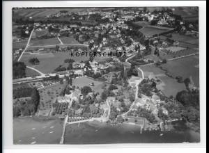 ZZ-1725/ Utting Foto seltenes Luftbild 1938 18 x 13 cm