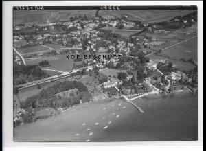 ZZ-1726/ Utting Foto seltenes Luftbild 1938 18 x 13 cm