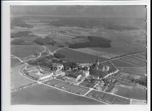 ZZ-1728/ Eresing St. Ottilien Kloster Foto seltenes Luftbild 1938 18 x 13 cm