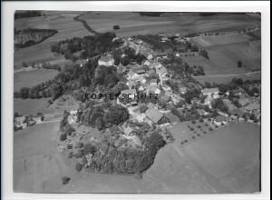 ZZ-1732/ Greifenberg b. Landsberg Foto seltenes Luftbild 1938 18 x 13 cm