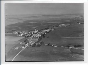 ZZ-1731/ Pestenacker - Weil Foto seltenes Luftbild ca. 1938 18 x 13 cm