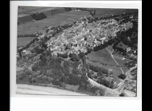 ZZ-1733/ Schongau Foto seltenes Luftbild 1938 18 x 13 cm