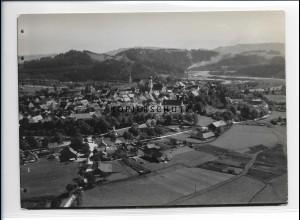 ZZ-1734/ Schongau Foto seltenes Luftbild 1936 18 x 13 cm