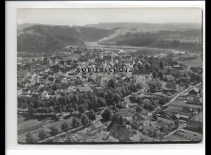 ZZ-1735/ Schongau Foto seltenes Luftbild 1936 18 x 13 cm