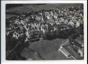 ZZ-1736/ Schongau Foto seltenes Luftbild 1936 18 x 13 cm