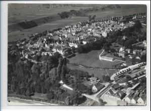 ZZ-1737/ Schongau Foto seltenes Luftbild 1936 18 x 13 cm
