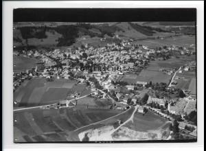 ZZ-1739/ Peiting bei Schongau Foto seltenes Luftbild 1936 18 x 13 cm