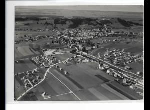 ZZ-1740/ Peiting bei Schongau Foto seltenes Luftbild 1936 18 x 13 cm