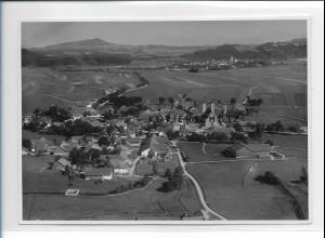 ZZ-1741/ Altenstadt bei Schongau Foto seltenes Luftbild ca. 1936 18 x 13 cm