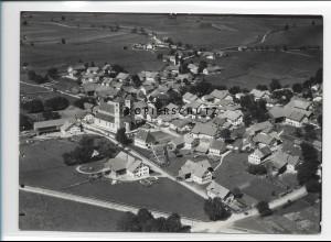 ZZ-1742/ Altenstadt bei Schongau Foto seltenes Luftbild 1936 18 x 13 cm