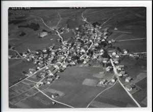 ZZ-1743/ Burggen Foto seltenes Luftbild 1938 18 x 13 cm