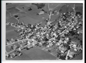 ZZ-1744/ Burggen Foto seltenes Luftbild 1938 18 x 13 cm