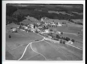 ZZ-1745/ Tannenberg - Burggen Foto seltenes Luftbild 1938 18 x 13 cm