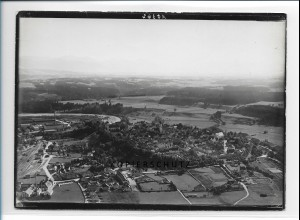 ZZ-1746/ Schongau Foto seltenes Luftbild 1938 18 x 13 cm
