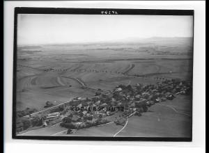 ZZ-1764/ Hohenfurch b. Schongau Foto seltenes Luftbild 1938 18 x 13 cm