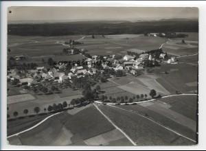 ZZ-1761/ Sachsenried b. Schwabsoien Foto seltenes Luftbild 1936 18 x 13 cm
