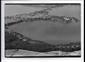 ZZ-1756/ Ratzeburg Foto seltenes Luftbild 1939 18 x 13 cm