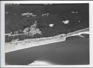 ZZ-1754/ Geesthacht Foto seltenes Luftbild 1938 18 x 13 cm