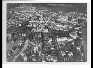 ZZ-5249/ Traunstein Foto seltenes Luftbild 18 x 13 cm 1938