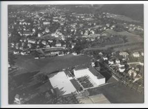 ZZ-5250/ Traunstein Foto seltenes Luftbild 18 x 13 cm 1938