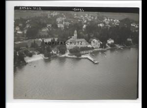 ZZ-1766/ Schachen bei Lindau Foto seltenes Luftbild 1939 18 x 13 cm