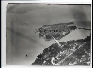 ZZ-1765/ Lindau Foto seltenes Luftbild 1939 18 x 13 cm