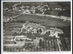 ZZ-1820/ Untermarchtal Foto seltenes Luftbild ca.1938 18 x 13 cm