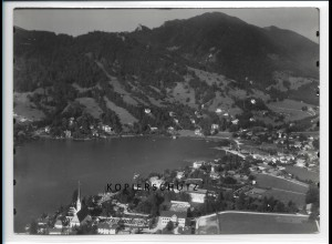 ZZ-1822/ Egern am Tegernsee Foto seltenes Luftbild 1936 18 x 13 cm