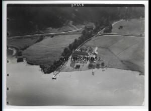ZZ-1824/ Kramsberg a. Schliersee Foto seltenes Luftbild ca.1938 18 x 13 cm