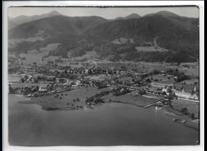 ZZ-1825/ Schliersee Foto seltenes Luftbild 1936 18 x 13 cm