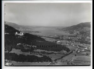 ZZ-1828/ Bad Kreuth Foto seltenes Luftbild 1936 18 x 13 cm