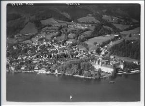 ZZ-1832/ Tegernsee Foto seltenes Luftbild 1938 18 x 13 cm