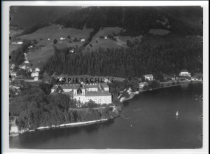 ZZ-1833/ Tegernsee Foto seltenes Luftbild 1938 18 x 13 cm