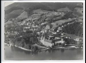 ZZ-1834/ Tegernsee Foto seltenes Luftbild 1938 18 x 13 cm