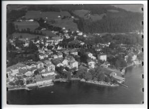 ZZ-1836/ Tegernsee Foto seltenes Luftbild 1938 18 x 13 cm