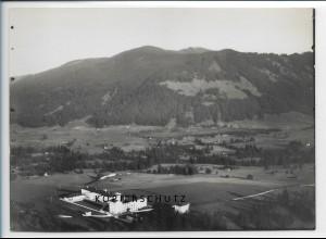 ZZ-1837/ Gaissach b. Tegernsee Foto seltenes Luftbild 1938 18 x 13 cm