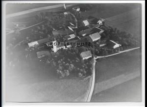 ZZ-1840/ Frauenneuharting Foto seltenes Luftbild 1938 18 x 13 cm