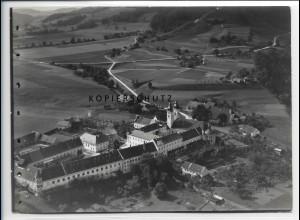ZZ-1846/ Kloster Au am Inn Foto seltenes Luftbild 1938 18 x 13 cm