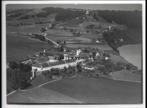 ZZ-1847/ Kloster Au am Inn Foto seltenes Luftbild 1938 18 x 13 cm