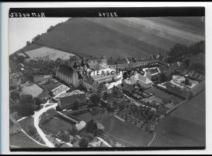 ZZ-1848/ Kloster Au am Inn Foto seltenes Luftbild 1938 18 x 13 cm