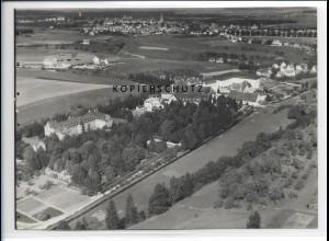 ZZ-1880/ Rottenmünster Heilanstalt Foto seltenes Luftbild 1936 18 x 13 cm