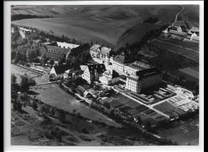 ZZ-1881/ Rottenmünster Heilanstalt Foto seltenes Luftbild 1936 18 x 13 cm