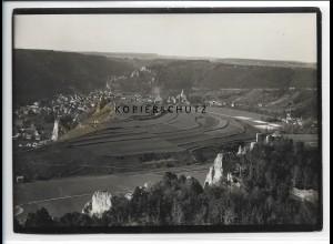 ZZ-4027/ Blaubeuren Foto seltenes Luftbild ca.1938 18 x 13 cm