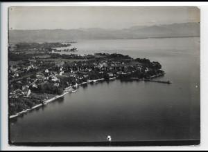 ZZ-1899/ Nonnenhorn Foto seltenes Luftbild 1937 18 x 13 cm
