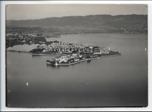 ZZ-1921/ Lindau am Bodensee Foto seltenes Luftbild 1935 18 x 13 cm