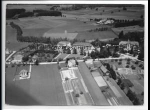 ZZ-1946/ Bad Wörishofen Foto seltenes Luftbild 1938 18 x 13 cm