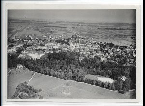 ZZ-1951/ Bad Wörishofen Foto seltenes Luftbild 1934 18 x 13 cm