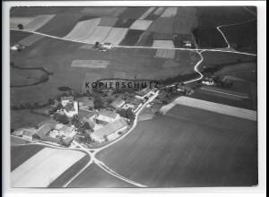 ZZ-1978/ Solling bei Vilsbiburg Foto seltenes Luftbild 1938 18 x 13 cm