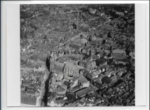 ZZ-1990/ Nürnberg Foto seltenes Luftbild 1936 18 x 13 cm